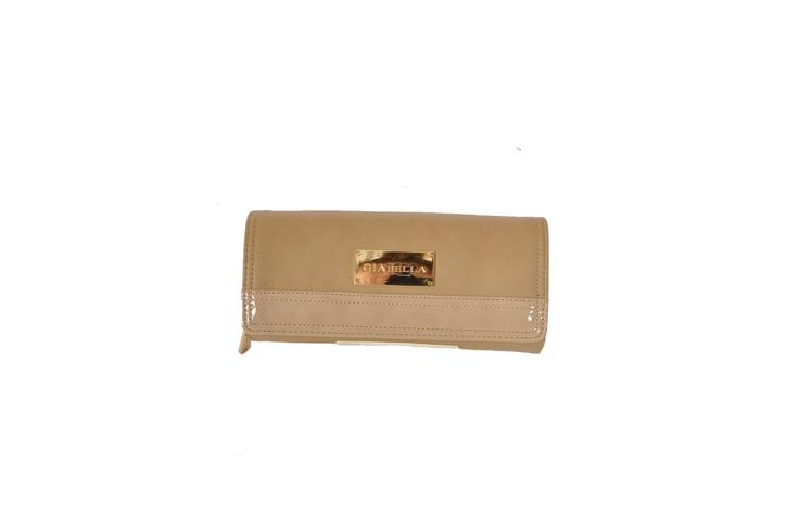 Marian by Giabella Classic Wallet in Beige