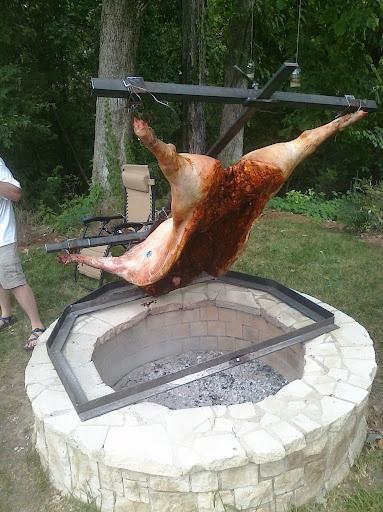 Ulika Food Blog: Asado: Pig