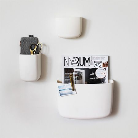 Pocket Organizers from Normann Copenhagen and interior details from HAY. - Q4 Scandinavian Design
