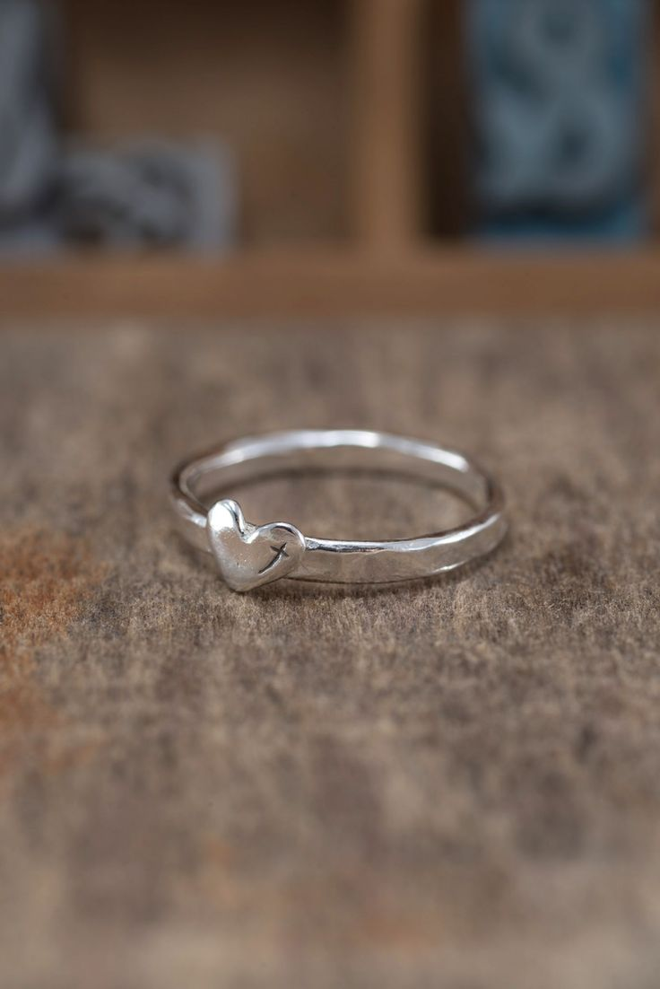 Heart for God Ring ....good idea for purity ring