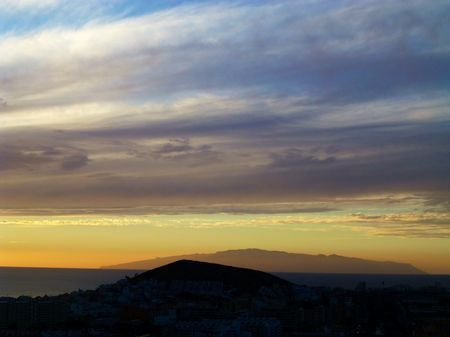 Tenerife with view to La Gomera.  Photo by Carl Christian Glosemeyer Andersen — National Geographic Your Shot