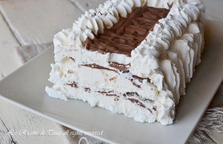 Viennetta fatta in casa,una torta gelato facile e veloce