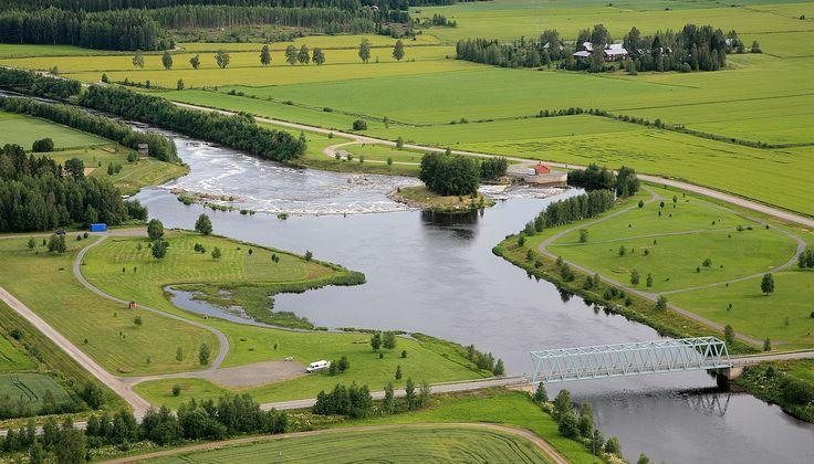South Ostrobothnia province of Western Finland. - Malkakoski, Etelä-Pohjanmaa.