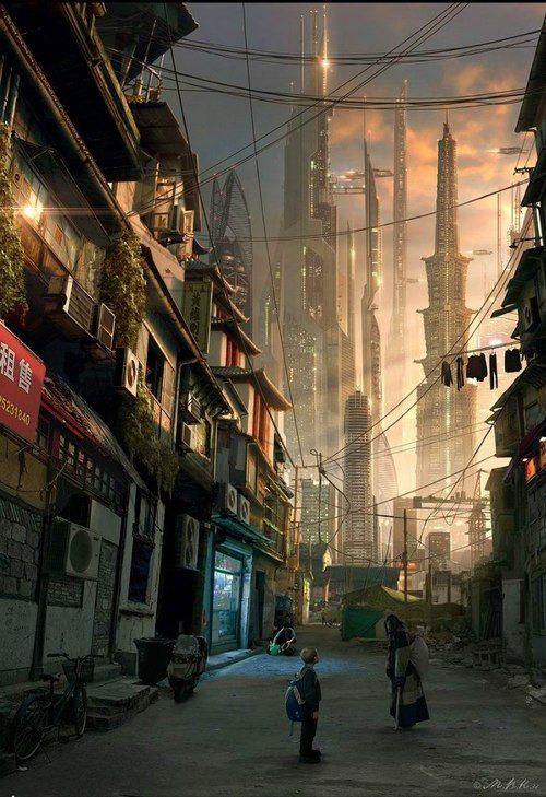metropolisoftomorrow: Urban Sun by Vladimir via asphyxium