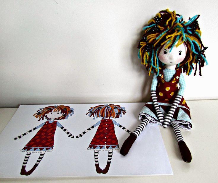 ANACARDIA atelier: As bonecas da Cecília