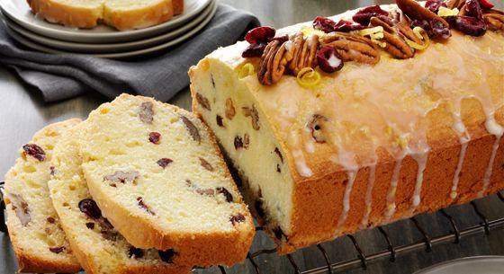 ... Brown sugar pound cake, Buttermilk pound cake and Orange pound cakes