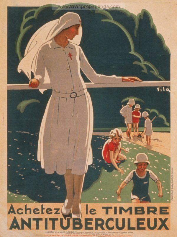 French propaganda poster WWI