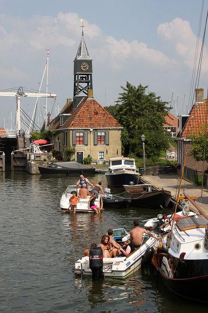 Hindeloopen, Friesland, Netherlands