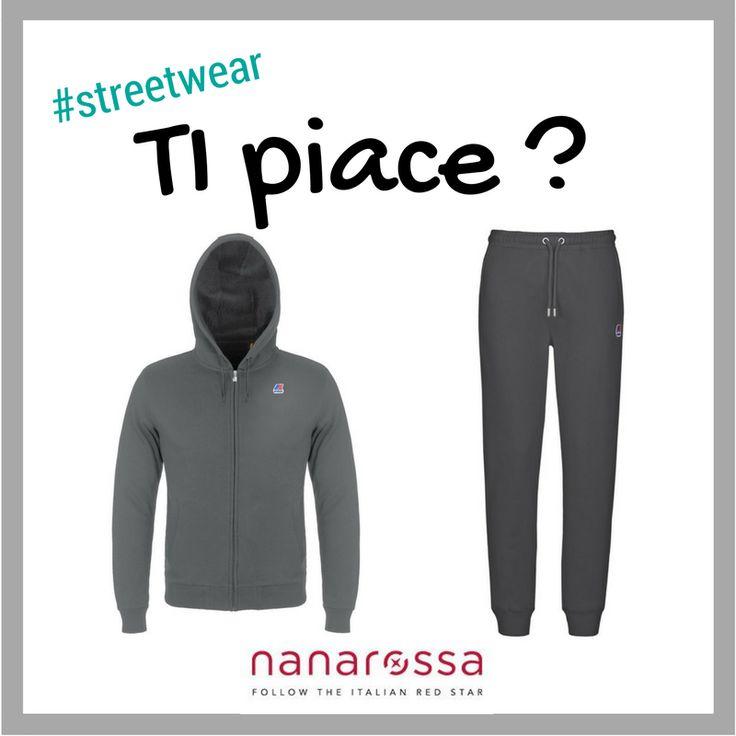 Ti piace questa tuta❔ Lo #streetwear si impadronisce del nostro guardaroba PE17! #diccilatua
