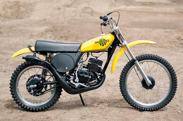 1975- suzuki tm125- this machine was greatly overshadowedthe