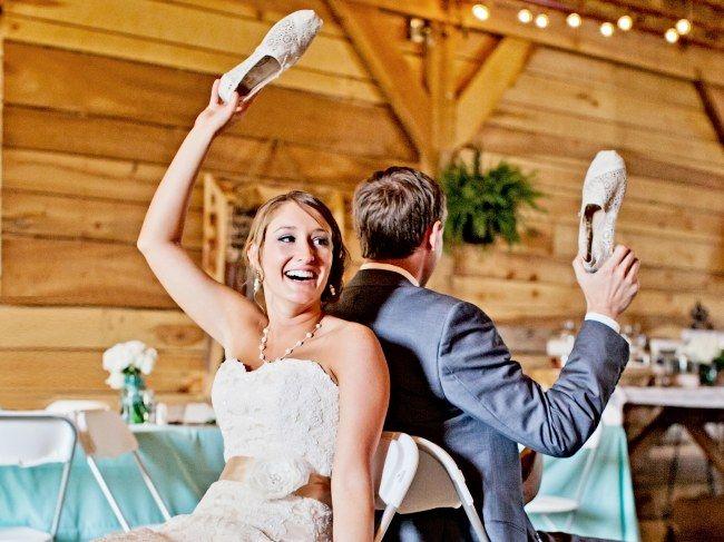 Hochzeitsspiele: Schuhe