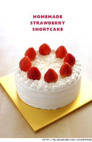 클래식 딸기 쇼트 케익