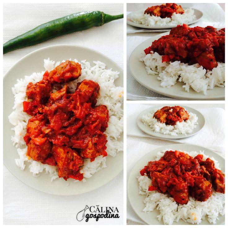 Gulas de porc sau vita // Beef or pork goulash
