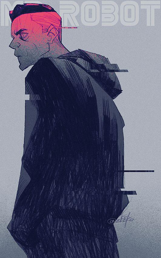 Mr. Robot #MrRobot #illustration