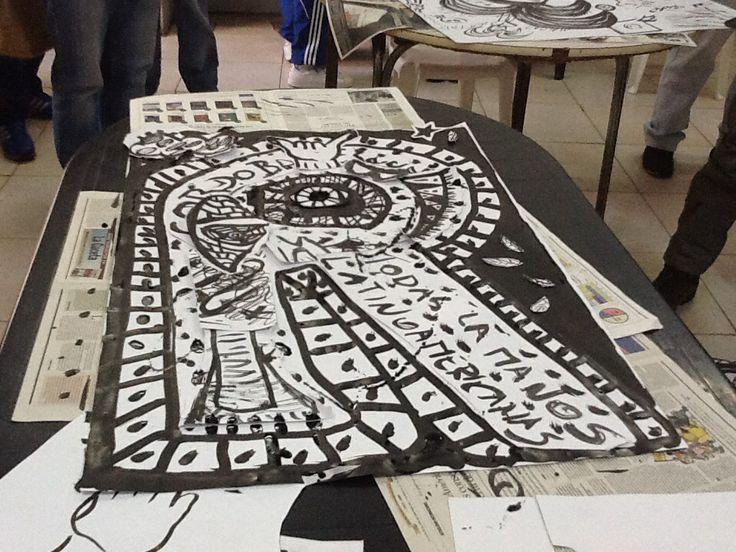 Taller de Diseño y Edición Colectivo en el Centro Universitario Devoto. Experiencia de diseño en la cárcel.