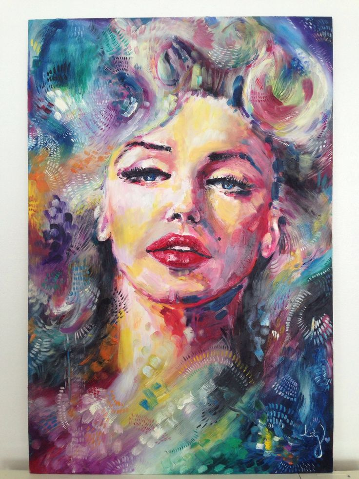 Marilyn Monroe Oil Pai...