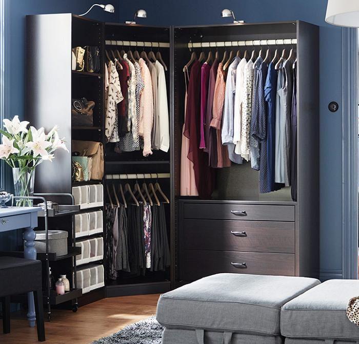 M s de 25 ideas incre bles sobre armario esquinero en - Armarios de entrada ikea ...