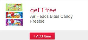 FREE Air Heads Bites Candy at Farm Fresh, Hornbachers, Shop 'N Save, Shoppers, and Cub Stores on http://www.icravefreebies.com/