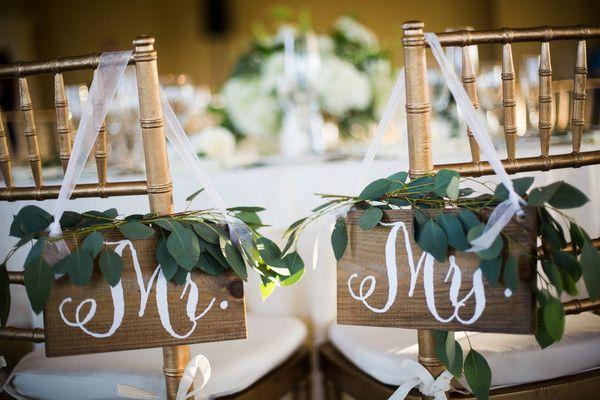 Best wedding chair decor images on pinterest