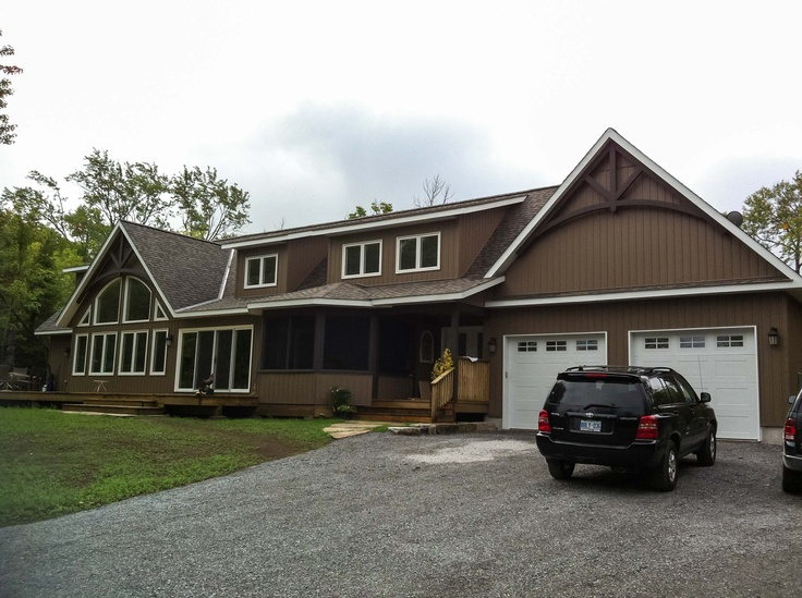 Infinity fine homes inc renovated this apsley ontario home using infinity fine homes inc renovated this apsley ontario home using gentek vinyl windows casements fixed casements and awnings infinity fine hom planetlyrics Gallery