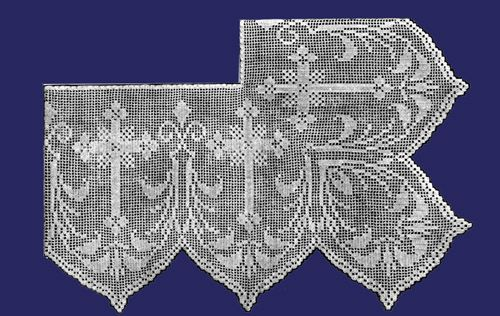 Iva Rose Vintage Reproductions - Weldon's 4D #128 c.1937 - Church Laces in Crochet