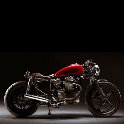 Honda Cx500 Cafe Racer By Kingston Custom: Triskelion Motors And Kyle Cannon. The Old Red