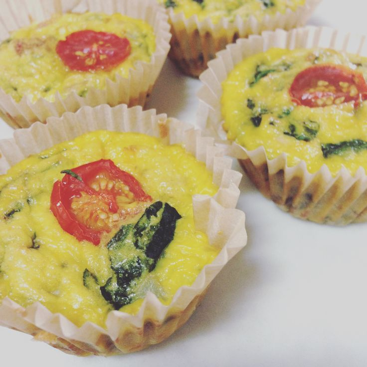 kiddy eggy muffins!
