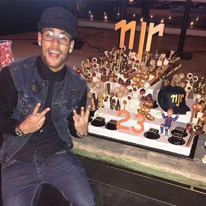 Neymar 23rd birthday