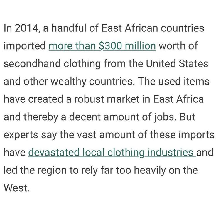 This is an extract from an article about African countries not wanting our hand me downs and how it's negatively impacting their small business. Good on them for saying No! You can read more here http://ift.tt/2d6bAHm power to the small businesses pulling their counties up... #cloud  #cloudtechnology  #CloudBusiness  #automation #Accounting  #Bookkeeping  #startuplife  #entrepreneurs  #focused  #simplify  #taskmanagement  #organized #todolist  #workfromhome  #makeithappen  #empower…