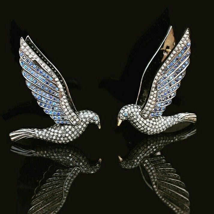 Diamond Sapphire Bird Earrings  #designerjewelry #jewelleryaddict #jaxemrata #jewelryaddict #jewelrymaking #jewelry #italianjewellery #ijl #londonjewellery #dubaijewellery #jckshow #bestselling #hotselling #hot #coolstuff #diamondstuds #solitaire #taylorswift #danbilzerian #selenagomez #kimkardashian #beyonce #beach #bikini #couturecollection #coutureshow #jcklasvegas #miamibeach @instagram #interior #interiordesign