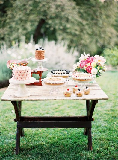 Dessert Table | Florals by Poppies & Posies, Photography by Jen Huang