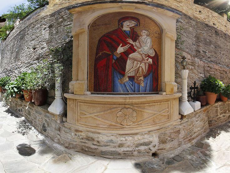 Άγιον Όρος - Ιερά Μονή Δοχειαρίου