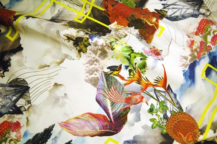 Miroglio textiles by Francesco Simeti