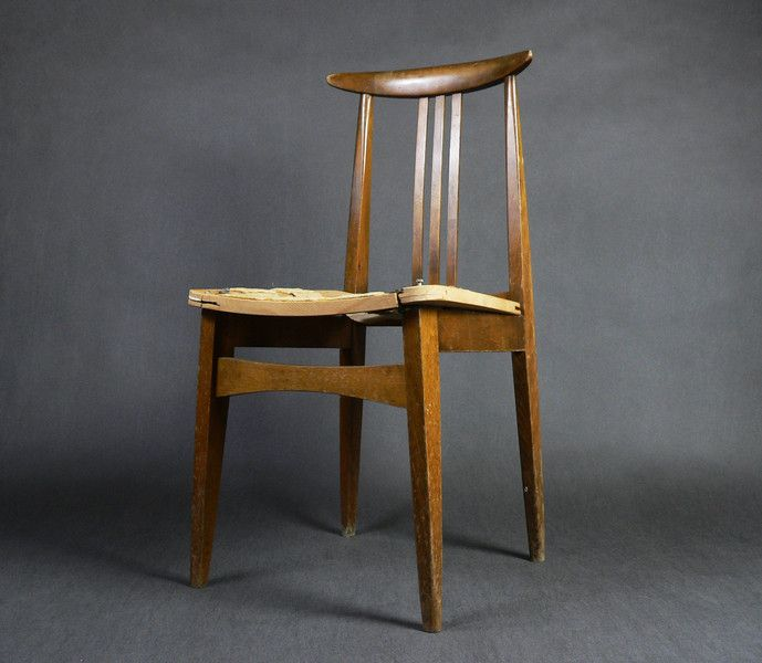 Krzesło proj. M. Zieliński typ 200/100B - Projekt-Vintage - Krzesła