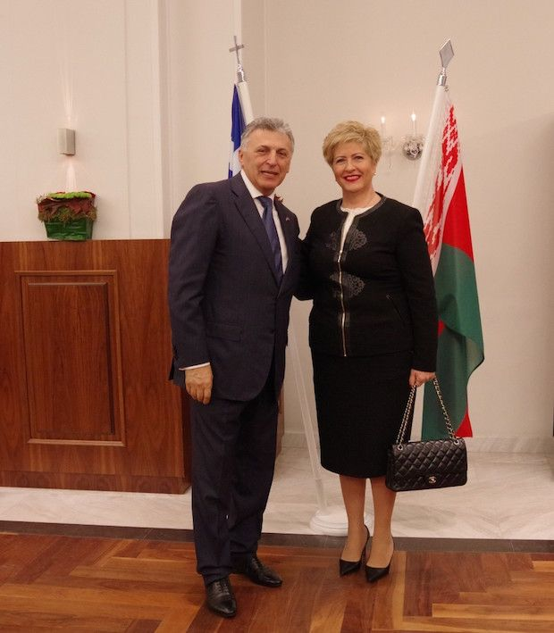 Εκδήλωση Εγκαινίων του επ.Προξενείου της Λευκορωσίας στη Θεσσαλονίκη και παραλαβή εγγράφου διαπίστευσης από τον κ. Μπόρις Μουζενίδη - Travelling News