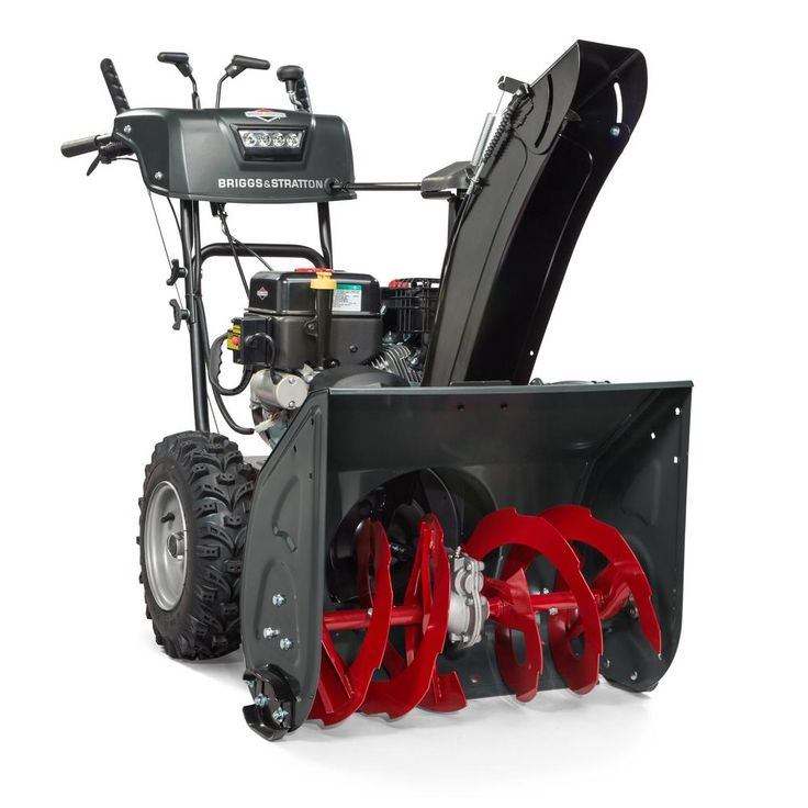 Steerable 24 in. 2-Stage Electric Start Gas Snow Blower