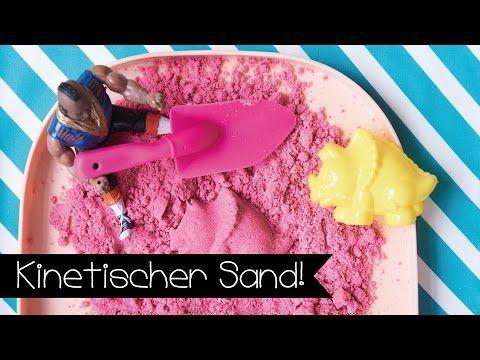 KINETIC SAND SELBER MACHEN I KINETISCHER SAND I DIY I KINNERTiED #54 - YouTube