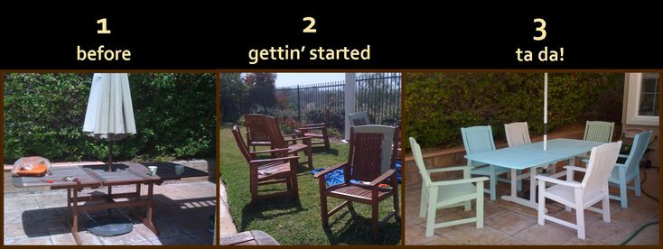 Painting Lawn Furniture - Americas Best Furniture Check more at http://cacophonouscreations.com/painting-lawn-furniture/