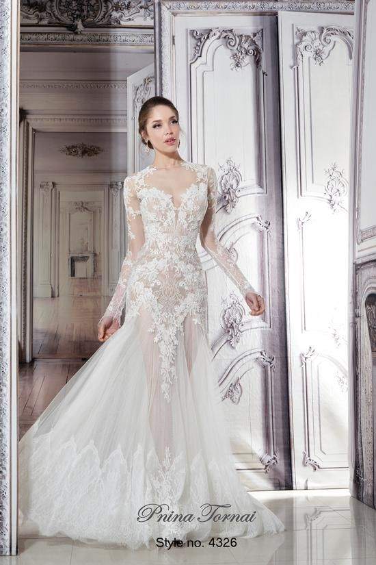 191 best images about pnina tornai on pinterest corsets for Kleinfeld wedding dresses with sleeves