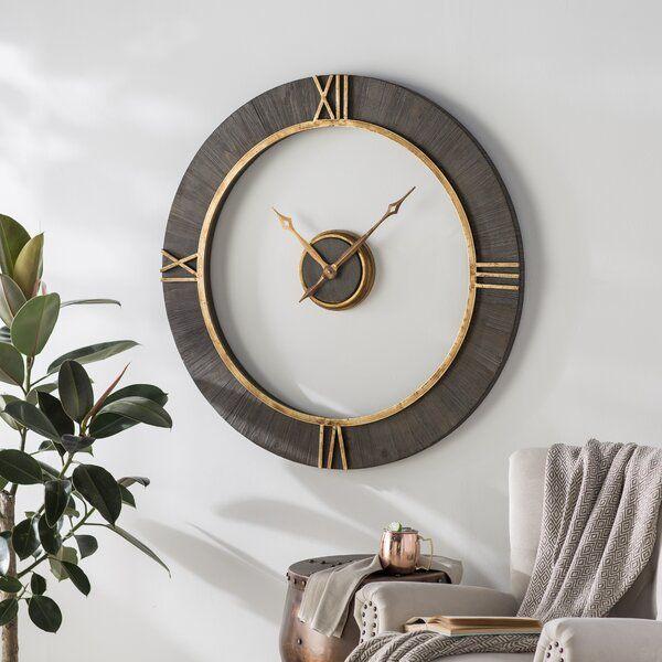 Oversized Modern 39 Wall Clock Clock Decor Oversized Wall Clock Clock Wall Decor