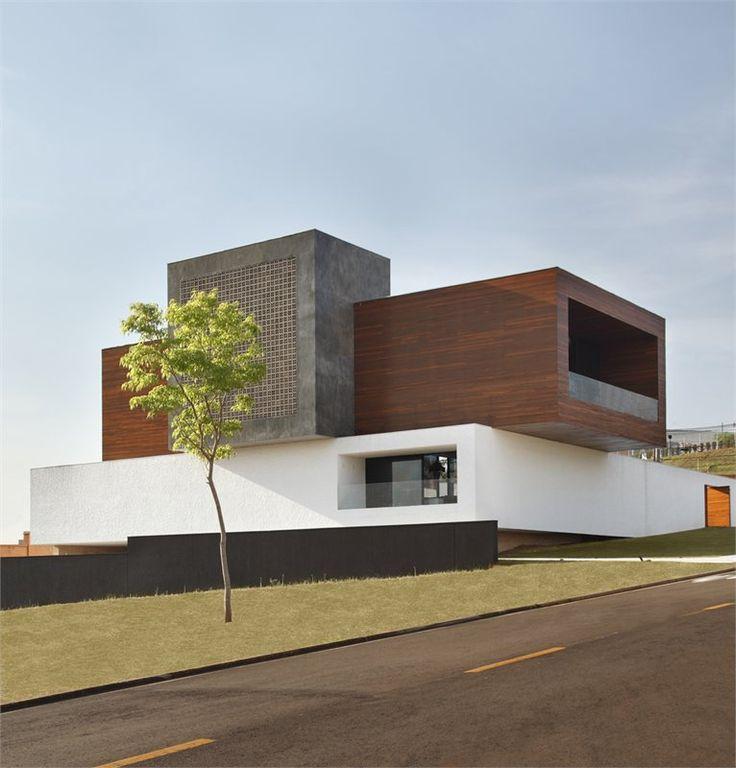 Les 218 meilleures images du tableau architecture sur - La maison ah au bresil par le studio guilherme torres ...