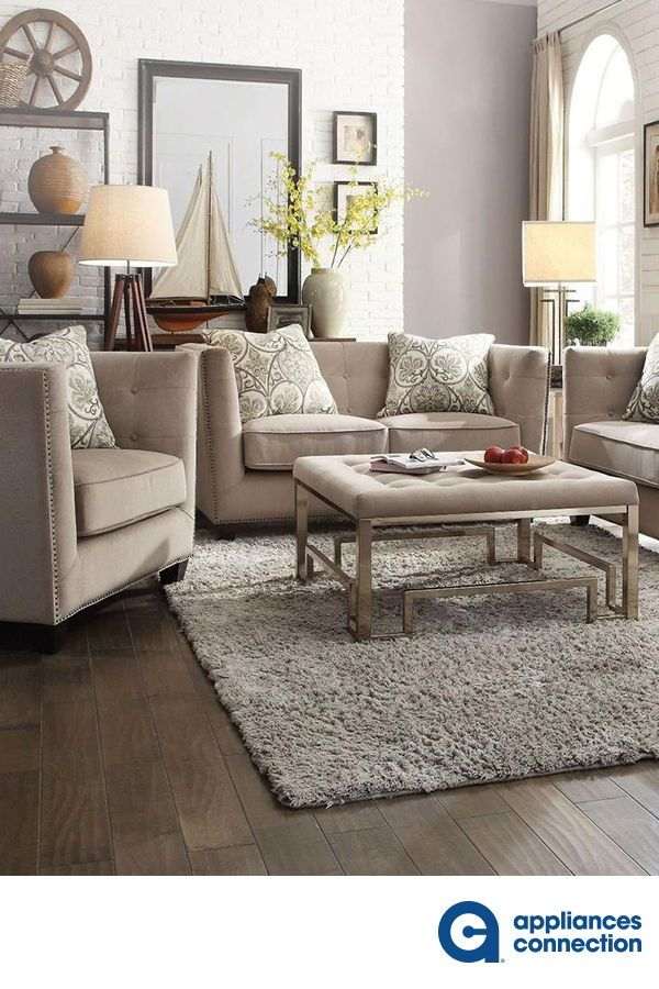 Juliana Collection 4 Pc Living Room Set With Sofa Loveseat Chair
