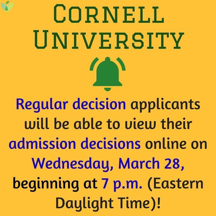 Cornell decision date in Brisbane