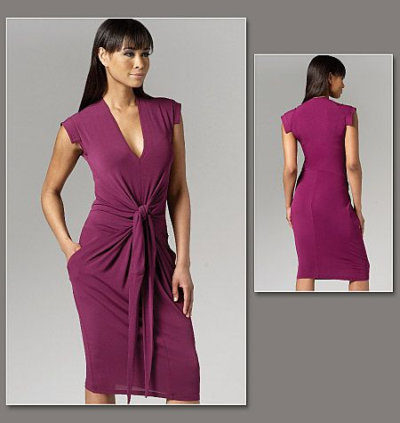 Patron de robe - Vogue 1258