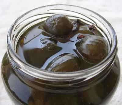 Baby Fig Spoon Sweet (Sikalaki Gliko)