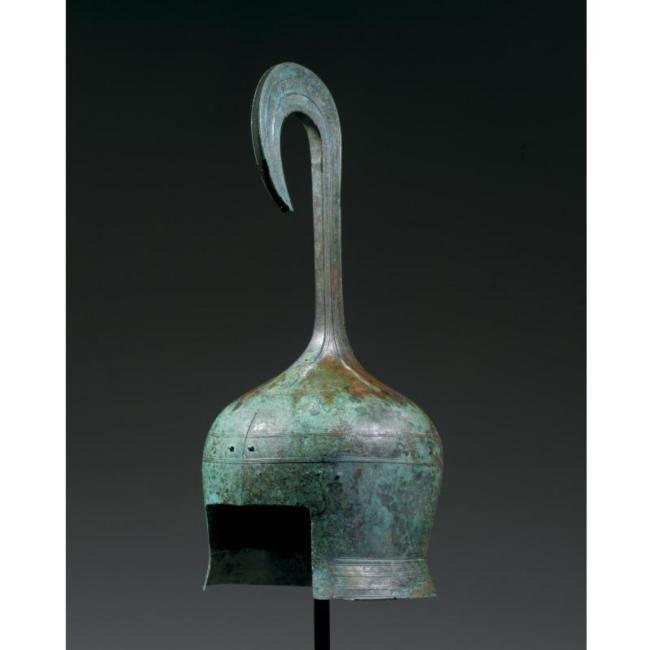 Greek Cretan Helmet Bronze Period