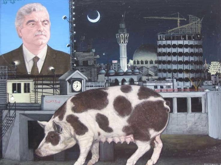 Emmanouil Bitsakis http://embitsakis.com   :::   Oil on canvas, 15 X 20 cm, 2007  ( Beirut )