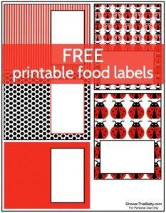 Ladybug Baby Shower Food Ideas | Shower That Baby
