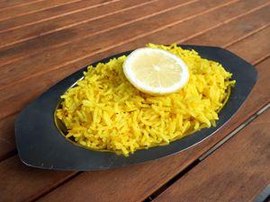 Riz au citron recette indienne