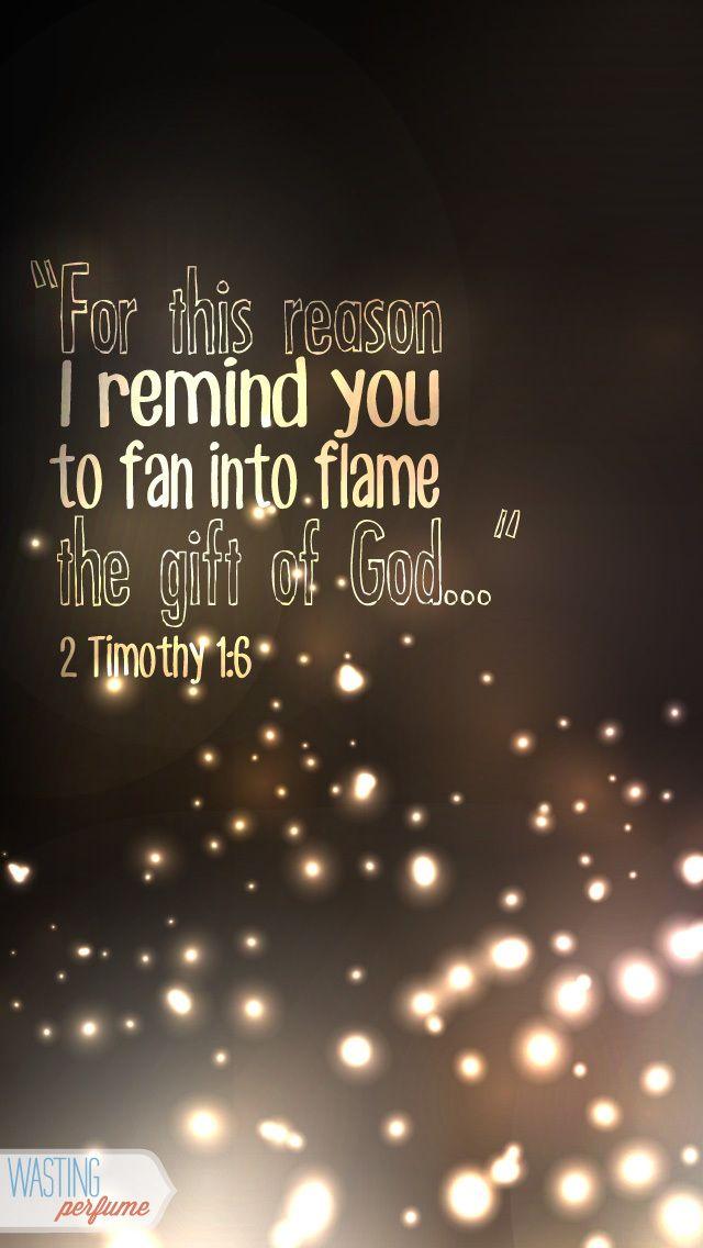 2 Timothy 1:6